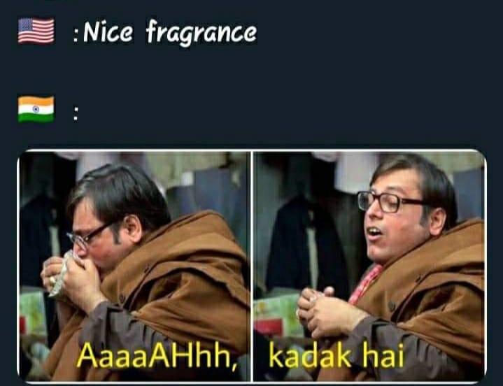 kachra seth america v:s india memes