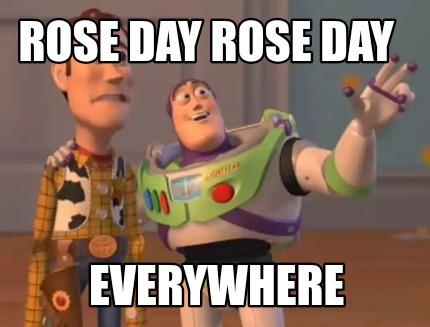 rose day memes everywhere