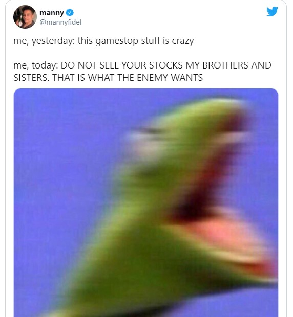 GameStop Stock Market Memes