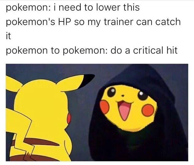 funny pikachu memes