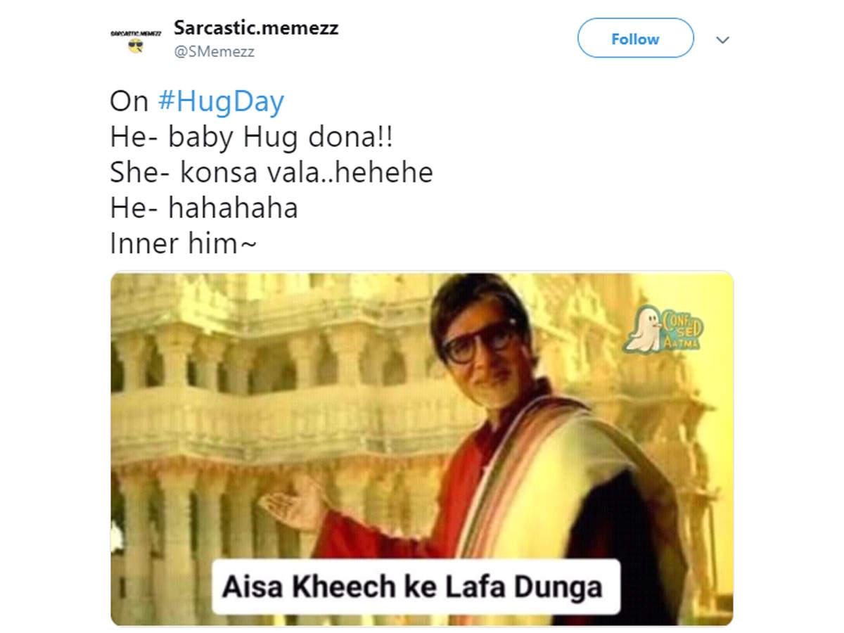 hug day memes