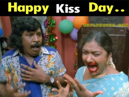 50+ Funny Happy Kiss Day Memes 2021 for Singles & Couples