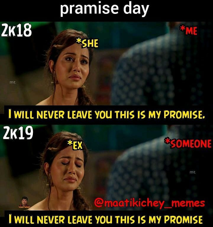promise day memes 2