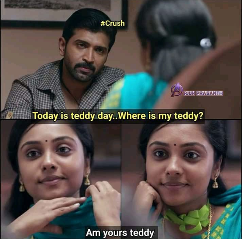 happy teddy day meme