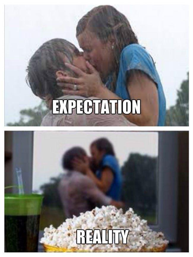 valentines day expectation vs reality