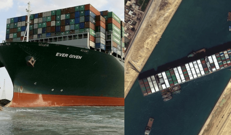 Finally! Giant Ever Given Ship Stuck At Egypt's Suez Canal For A Week Floats Again