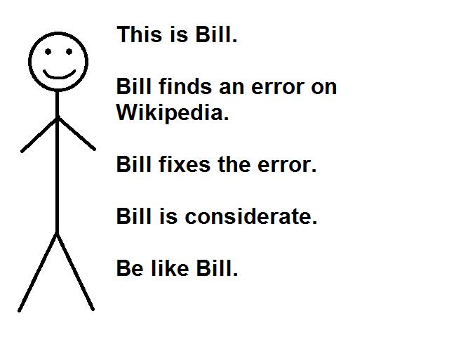 Be Like Bill meme