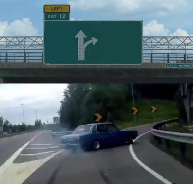Exit 12 meme
