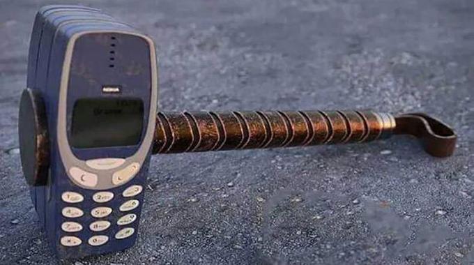 The Nokia 3310 meme