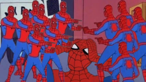 Spiderman Pointing Memes