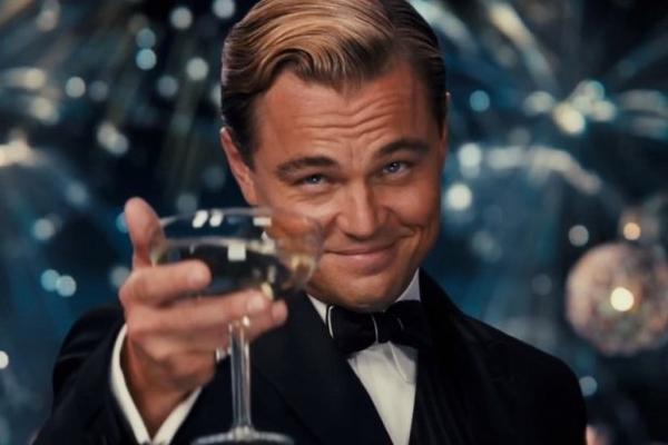 Leonardo Dicaprio Cheers blank template