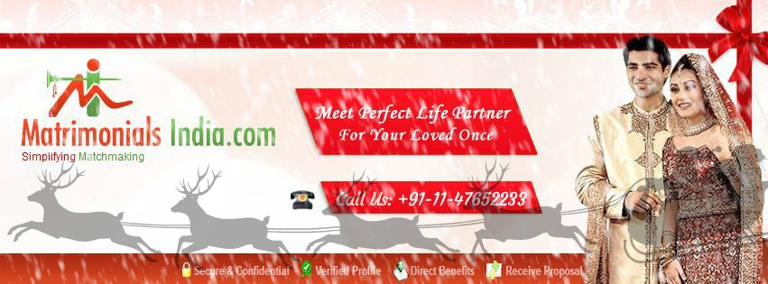 MatrimonialsIndia.comMatrimonialsIndia.com
