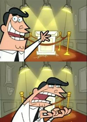 This Is Where I'd Put My Trophy If I Had One meme template