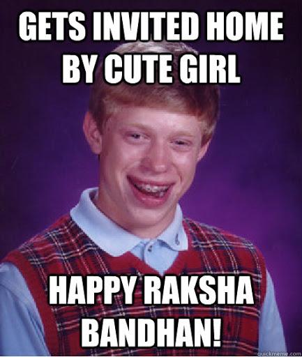 raksha bandhan memes