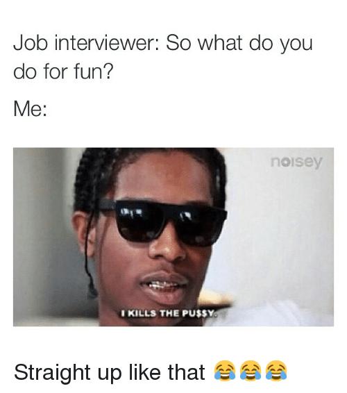 Job Interview Memes